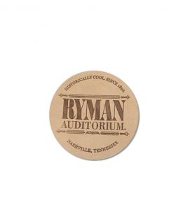 Ryman Leather Coaster