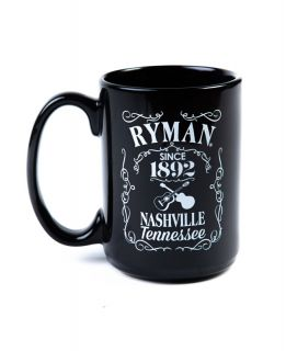 Ryman Whiskey Label Coffee Mug