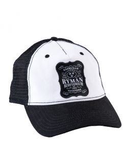 Ryman Whiskey Label Trucker Cap
