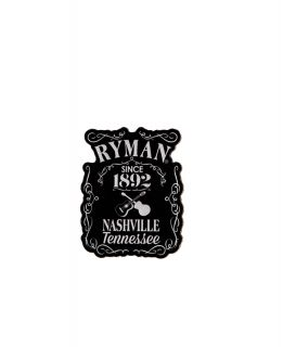 Ryman Whiskey Label Magnet
