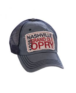Opry Square Patch Trucker Cap