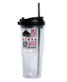Ryman Collage Tumbler with Straw