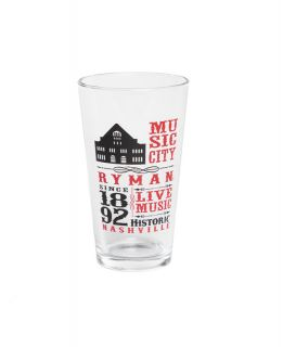 Ryman Collage Pint Glass