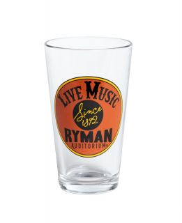 Ryman On The Record Pint Glass