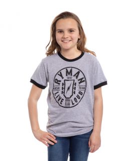 Ryman Youth Live Loud Ringer Tee