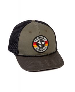 Ryman Retro Stripes Trucker Hat