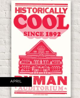Ryman 2018 Historically Cool Hatch Show Print