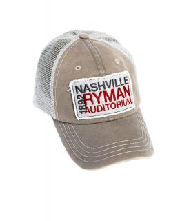 Ryman Nashville Patch Trucker Cap
