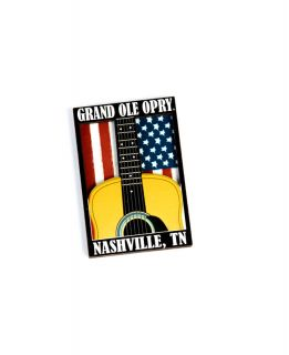 Opry Guitar Flag Magnet