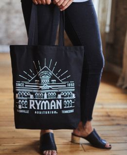 Ryman Auditorium Canvas Tote Bag