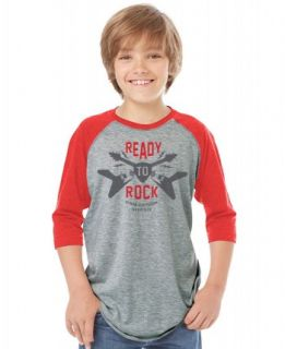 Ready To Rock Youth Raglan