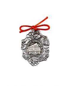 Ryman Auditorium Brushed Pewter Ornament