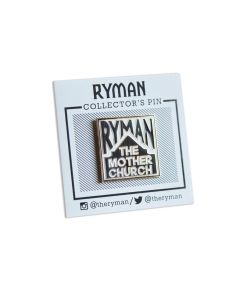 Ryman The Mother Church Lapel Pin