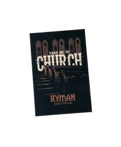 Ryman Take Me To Church Postcard